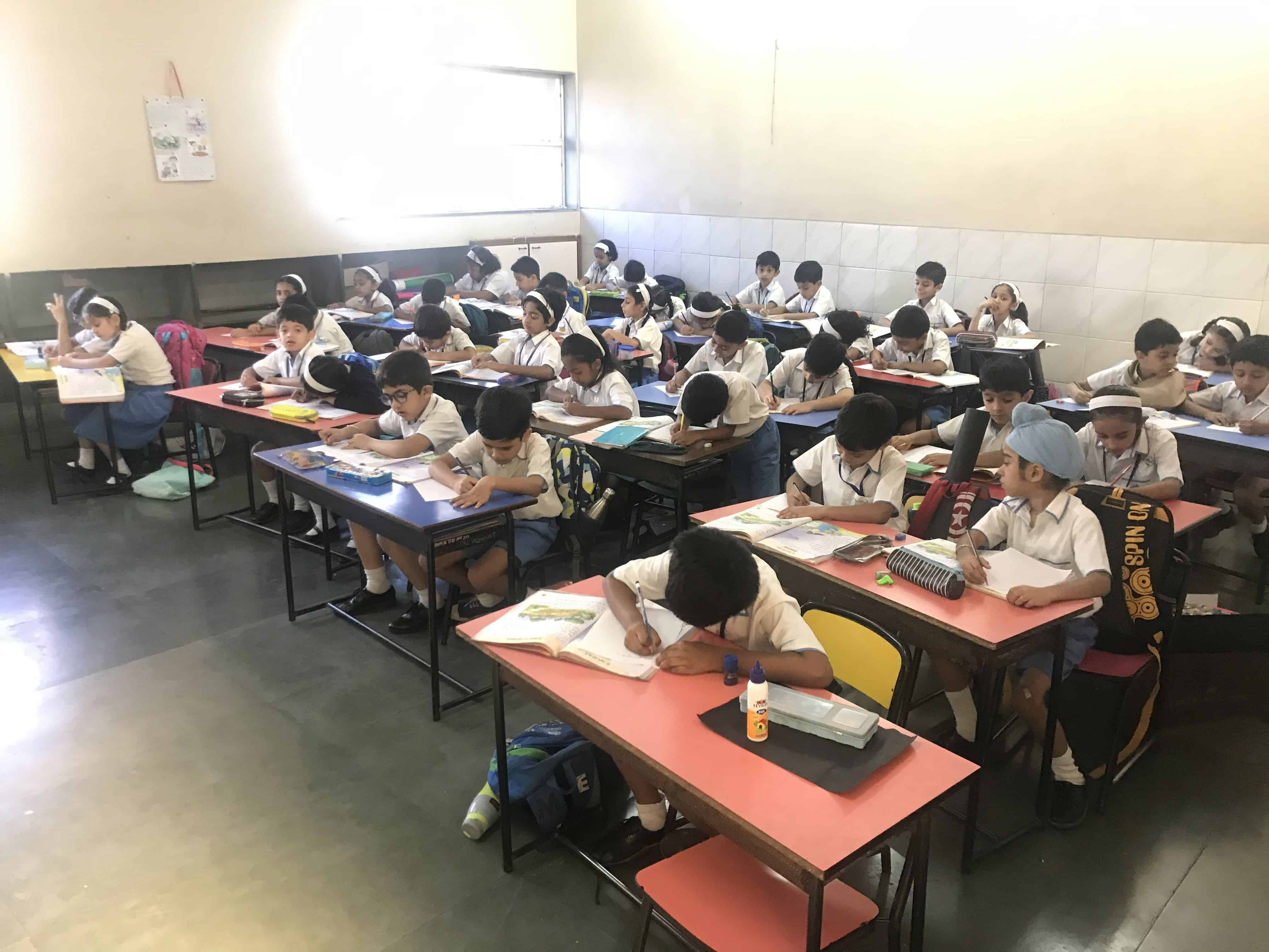 Inter-House English Handwriting Competition- Primary Section
