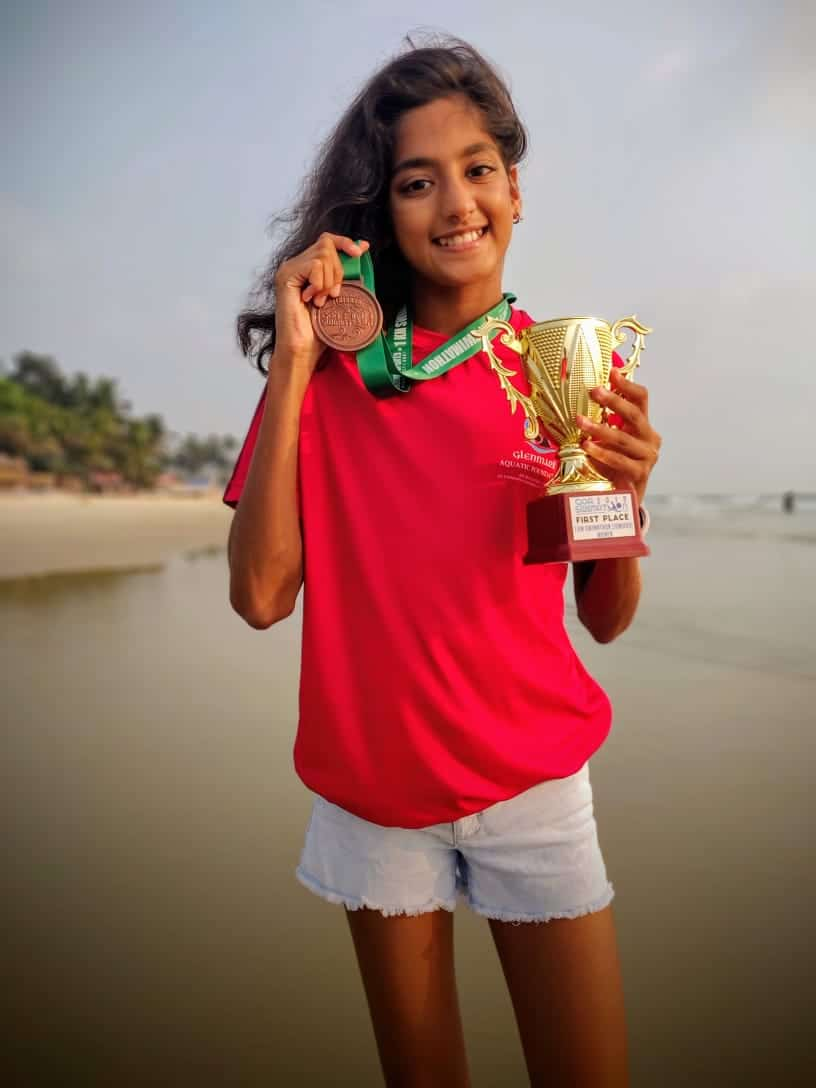 Ariaa Sheth's Mammoth Win at the Goa Swimathon 2019