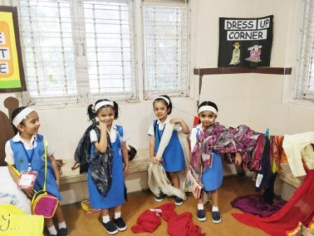 AVM Juhu, Pre-Primary Club Engaging Minds' – Pretend Play.