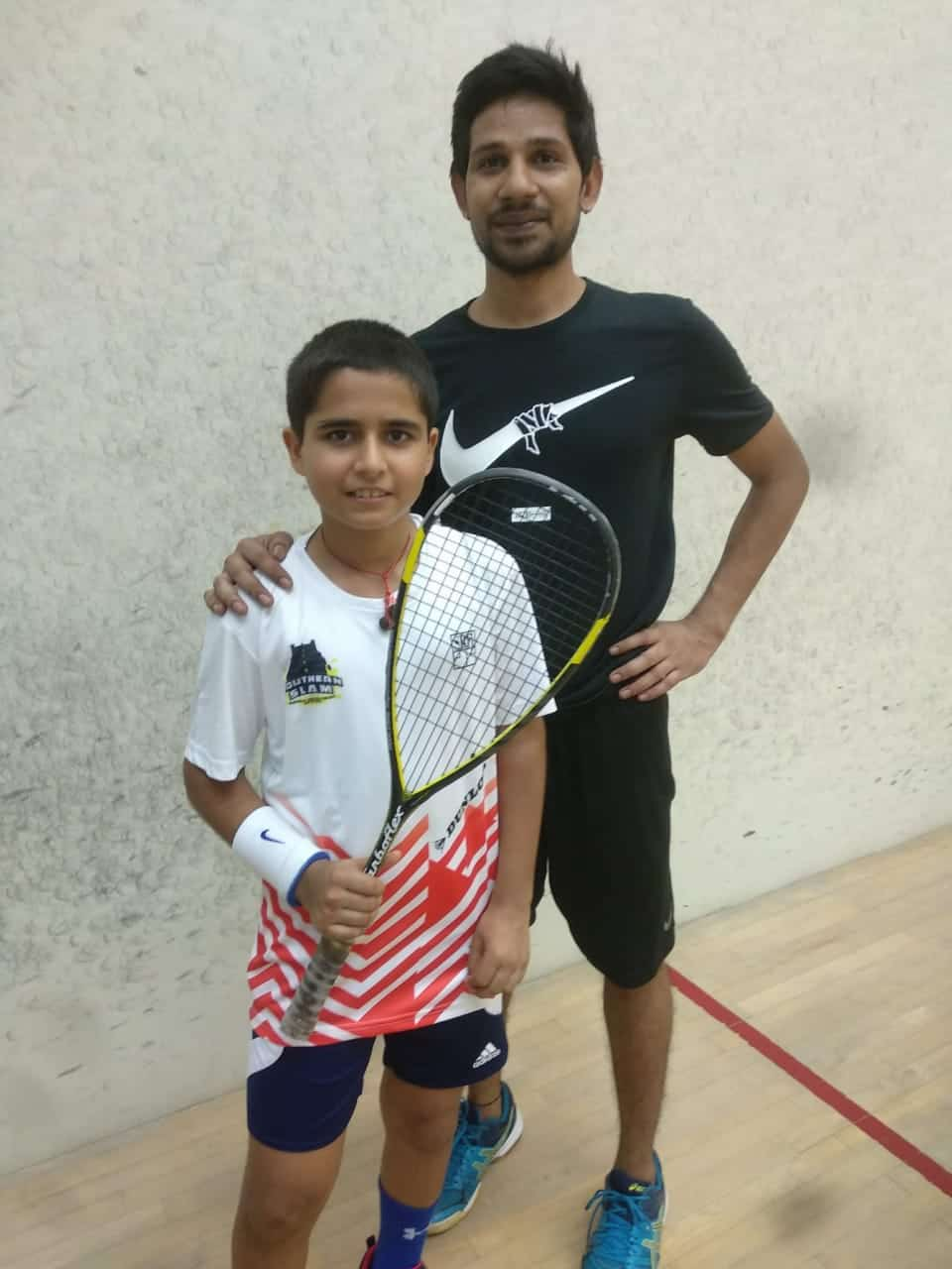 The phenomenal achievement by the budding Squash Champion of AVM BW
