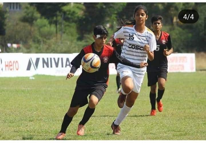 AVM Juhu's Games Captain ,Miss Sai Sankhe strikes once again!