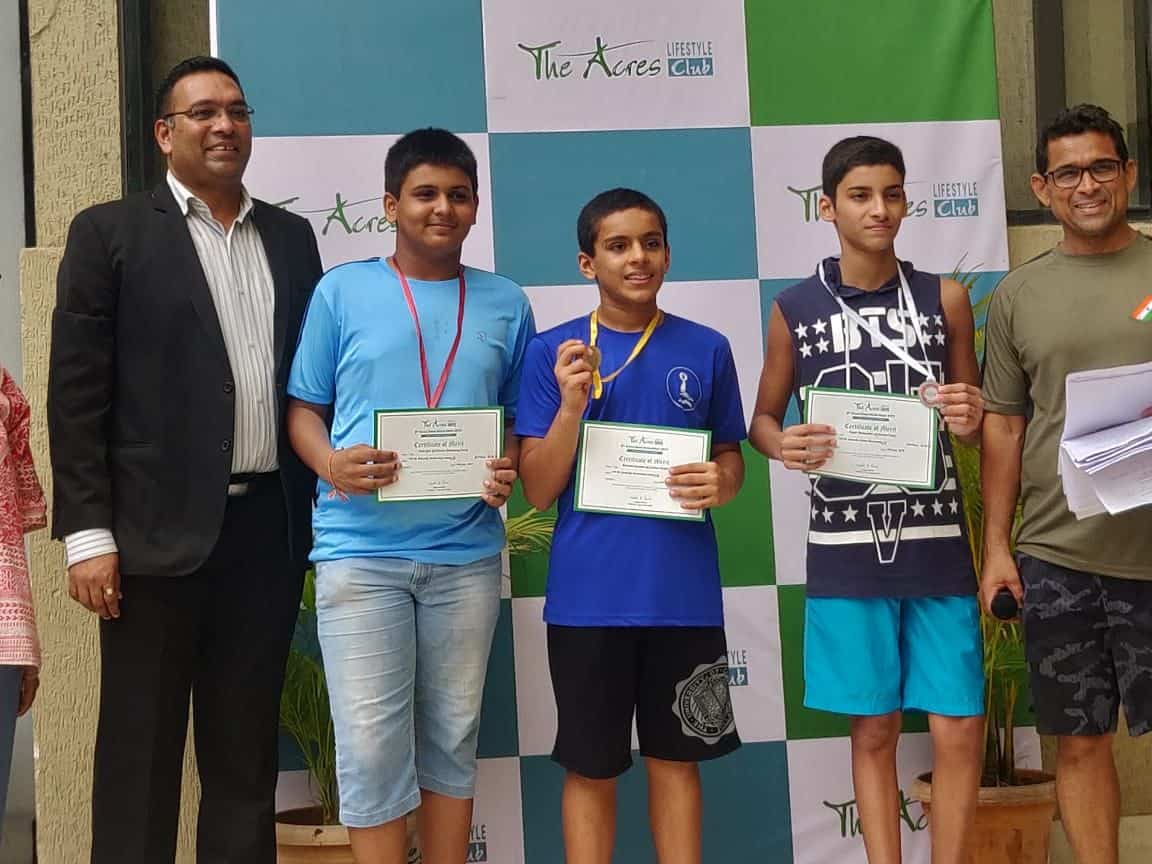 The astounding Swimming achievement of Master Rishabh Asudani