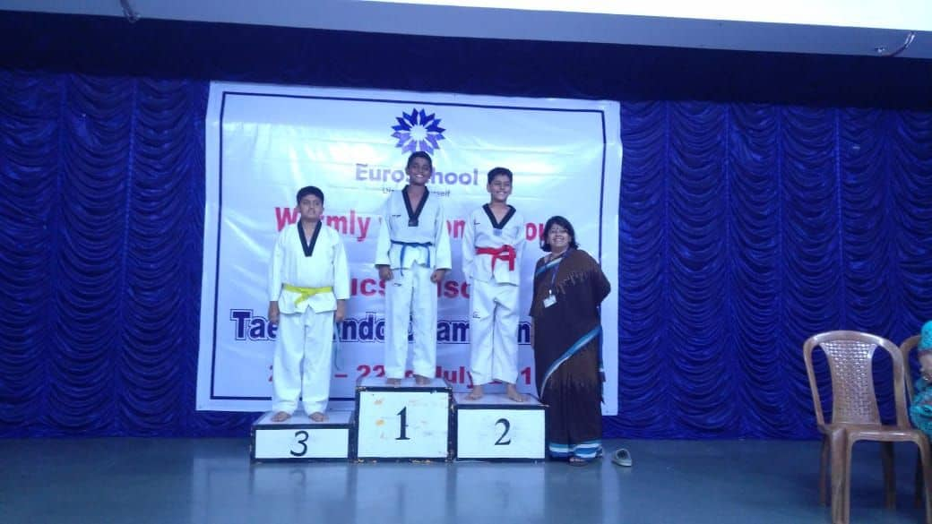 Master Adwik Kulkarni – The Gold Taekwondo Champion!!