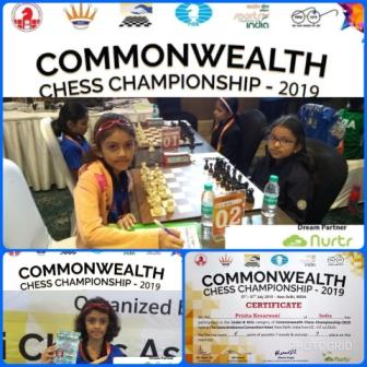 Prisha's Chess Rating Soars – AVM, Juhu