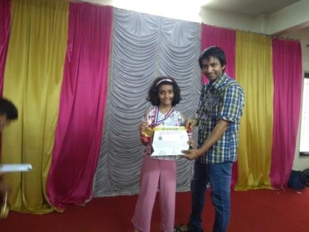 Prisha advances to State Level Chess- AVM, Juhu