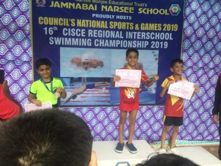 CISCE Gold for Shray Bhalla, 2019- AVM Juhu