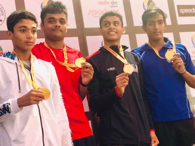 Srish Maulik's achievement at 46th Junior Nationals held in Rajkot.
