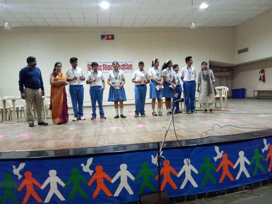 Inter House Hindi Debate 2019