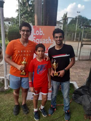 The Squash enthusiasts of AVM Bandra West consolidate their top positions!!