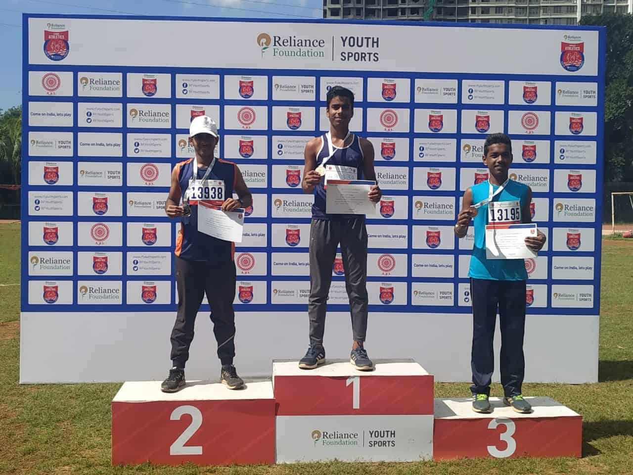 Master Yashorit Bagchi of AVM Bandra West wins yet another Medal!!!