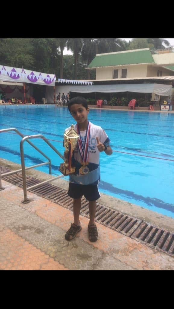 Runners Up Trophy for Shray Bhalla at GAMAA – AVM, Juhu