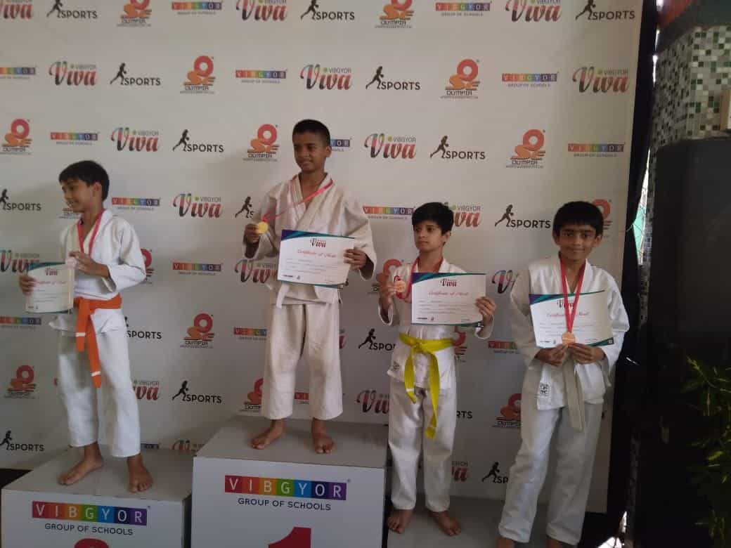 Master Ishhan Mahale bags a Bronze at the Inter School Viva Judo Competition