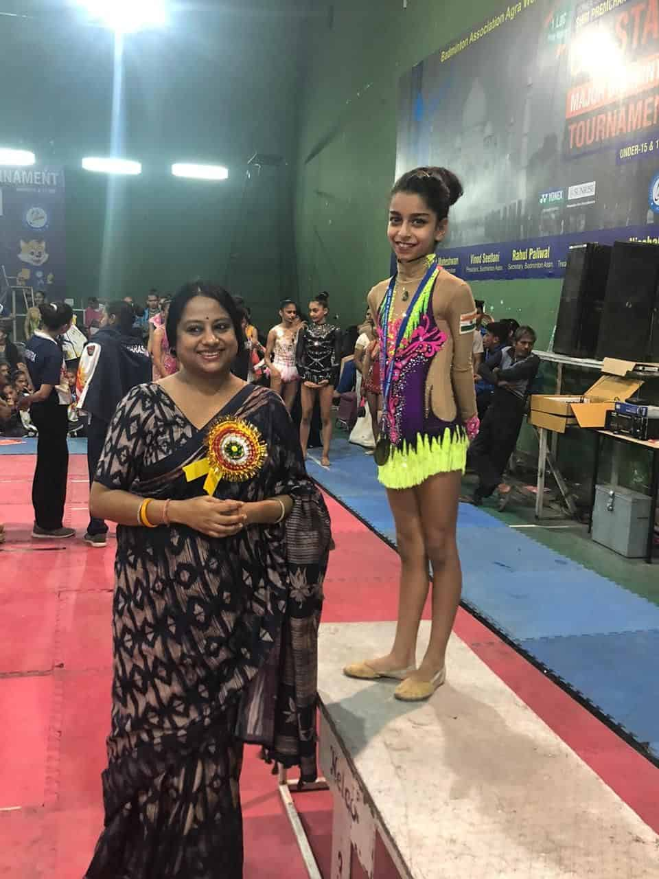 Miss Parina Madanpotra shines at the SGFI (School Games Federation Of India)