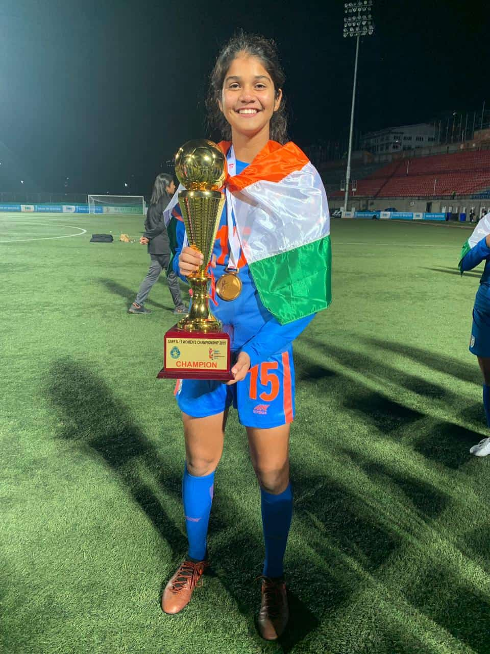 Extraordinary achievement of AVM Juhu's Games Captain, Miss Sai Sankhe