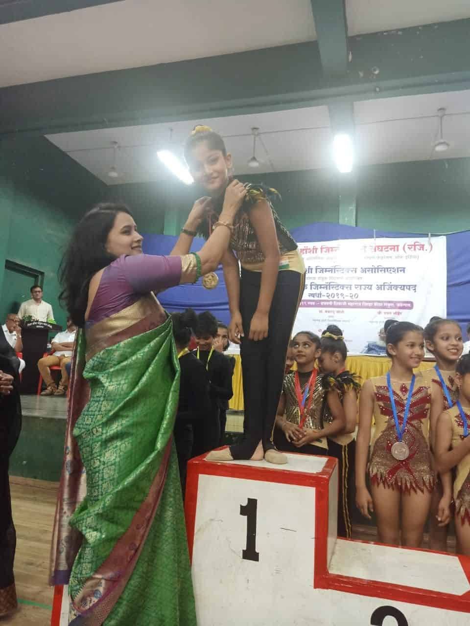 Miss Angel Shah bags Gold in the 30th State Championship