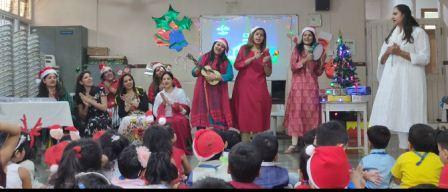Christmas Day Celebration for Pre-Primary @AVM Juhu