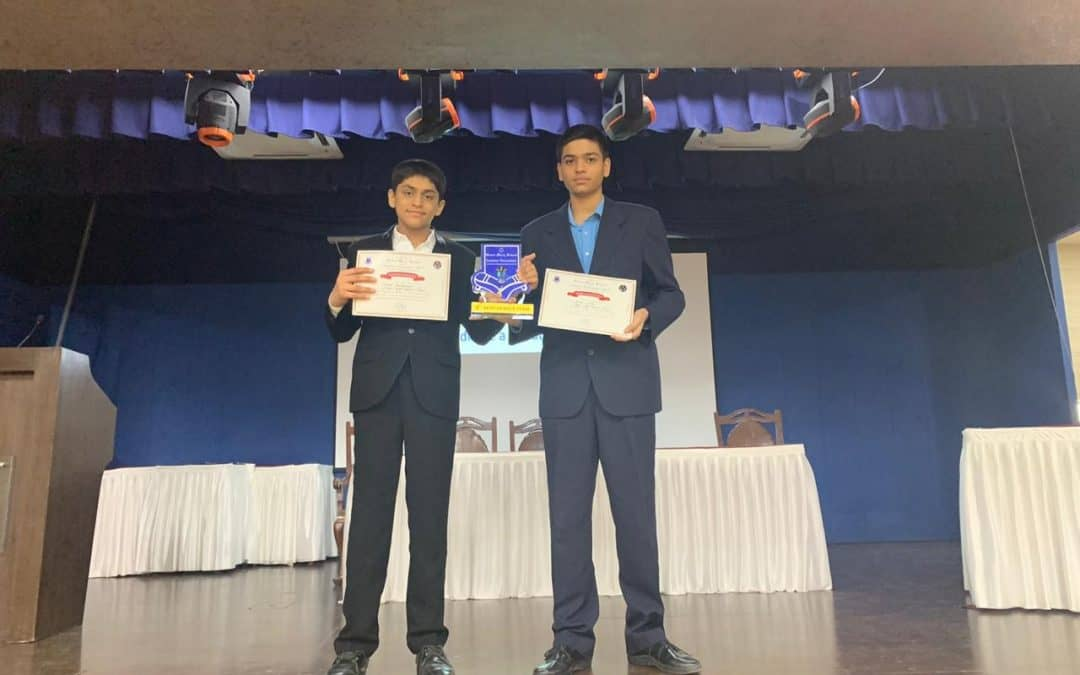 Achievement of our students at the Inter-School Debate competition