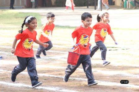 Pre-Primary Sports Day 2019 of AVM Juhu