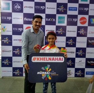 Another Chess Gold for Prisha –AVM , Juhu