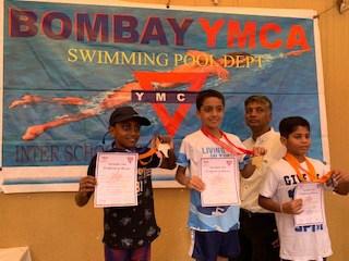 Breast Stroke Gold for Shray Bhalla- AVM, Juhu