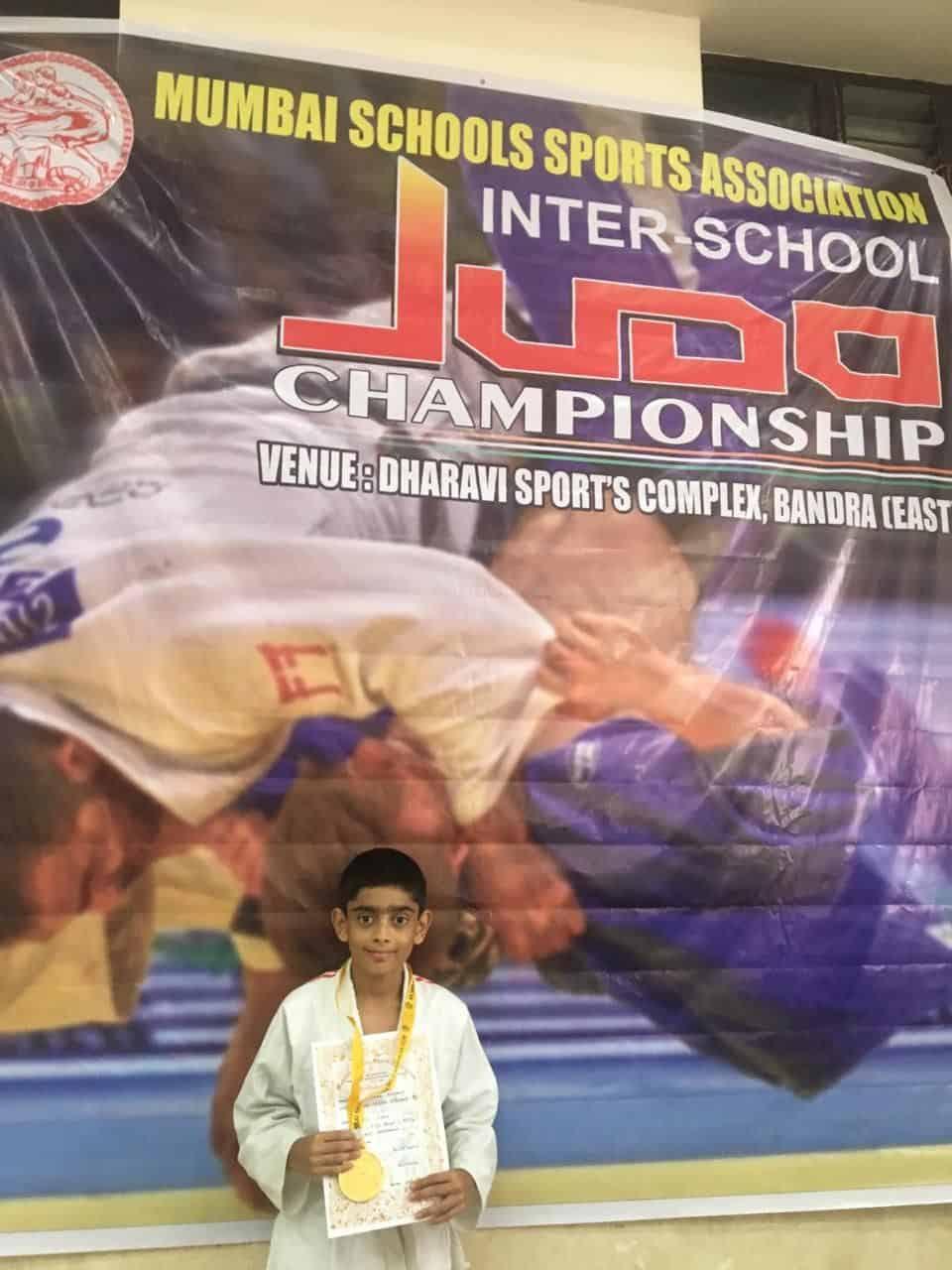 Master Ishaan Mahale: Gold at the MSSA Judo Tournament 2019