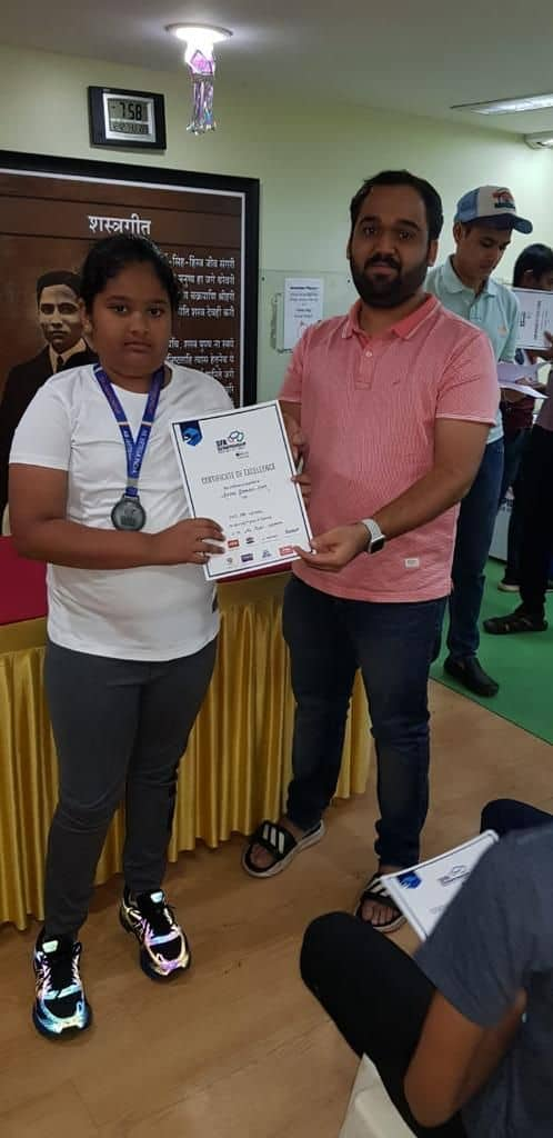 Miss Krsna J Naik aims for Silver in the Air Pistol Category