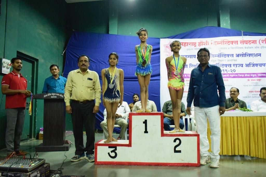 Miss Parina Madanpotra and the State Championship of Rhythmic Gymnastics