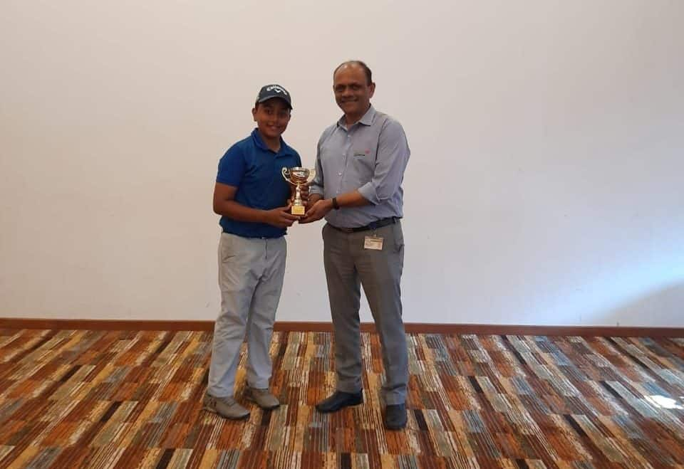 Master Rajveer Singh: Second at the Zonal Level Golf