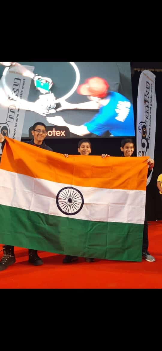 The young tech enthusiasts of AVM Bandra West exhibit their skills in the International scene !!!