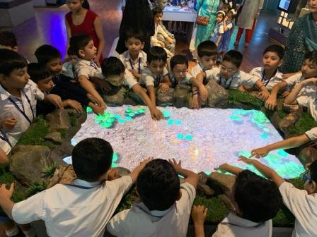 AVM Juhu-Prep II children enjoyed a field trip to Nehru Science Centre, Worli