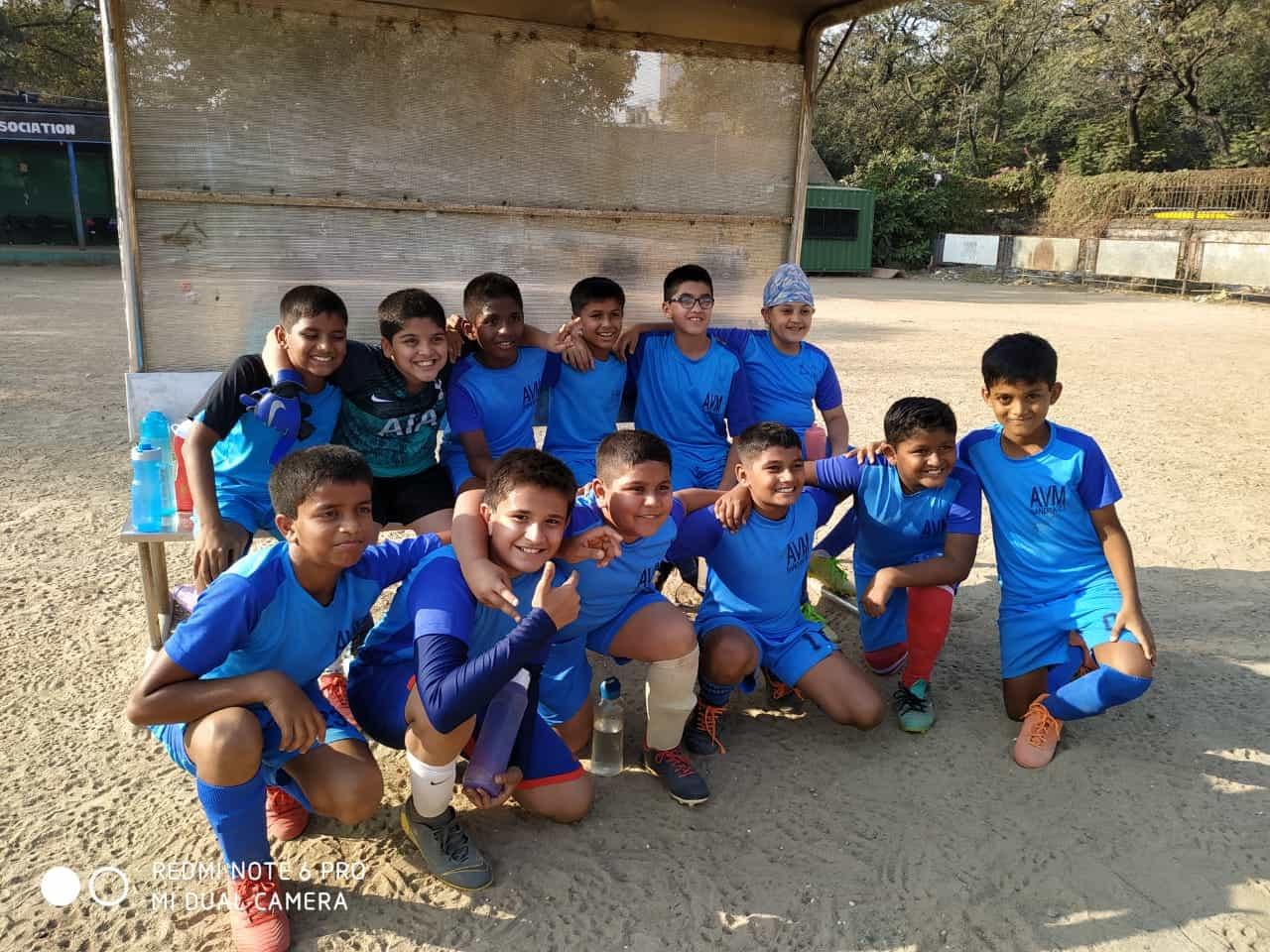 Victory in the 3rd MSSA Boys U/12 Football match