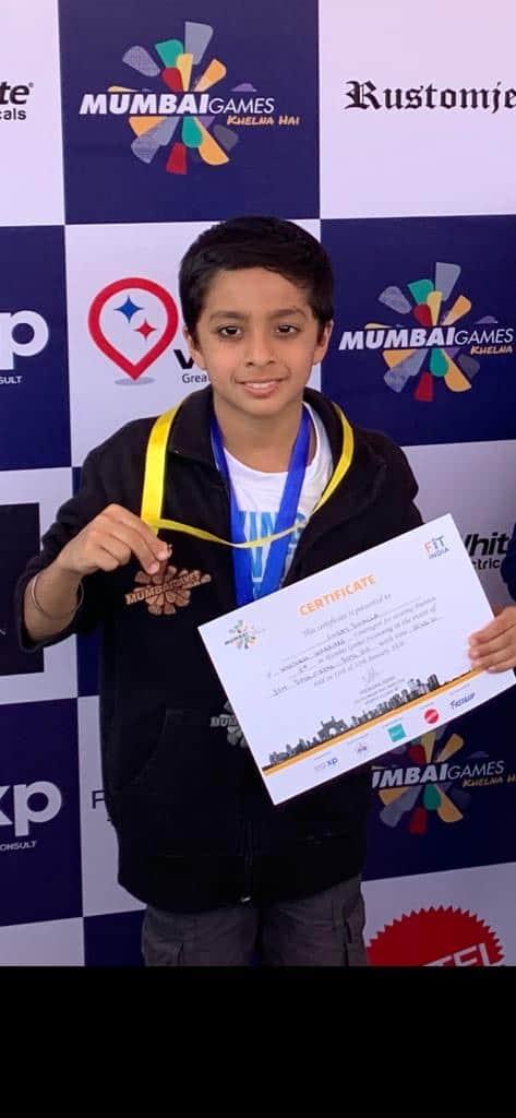 Silver and Bronze for Shray Bhalla at Mumbai Games – AVM, Juhu