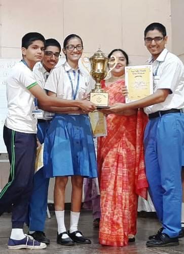 AVM Juhu Triumphs at 2nd INTRA AVM GK Quiz