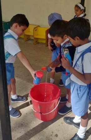 Water Conservation initiative – The Thirsty Crow by AVM Juhu Pre-Primary teachers
