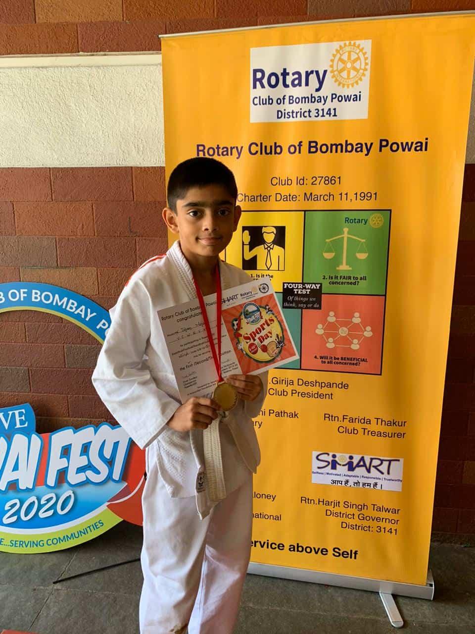Ishaan Mahale wins Gold in Judo!