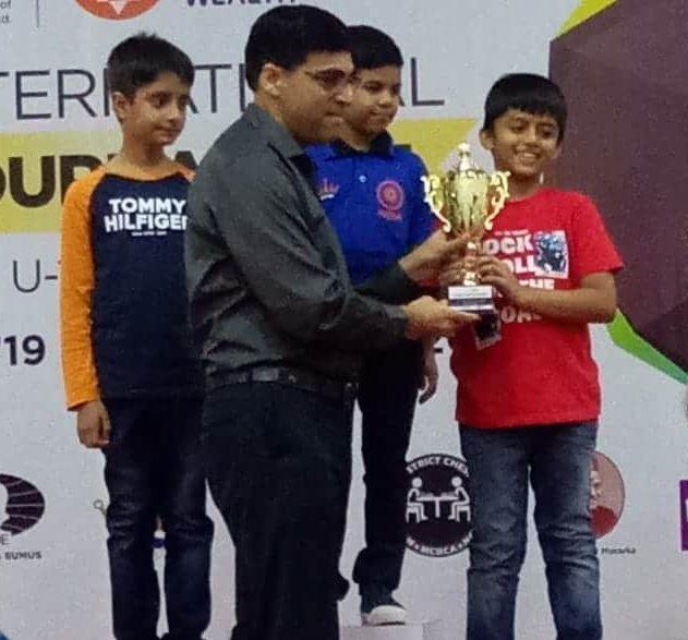 Chess Master Hriday Maniar wins again!