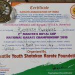 Master Reyansh Agarwal's feat @ Champion's Cup