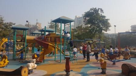 Playschools of AVM Juhu visits the Musical Garden for a field trip
