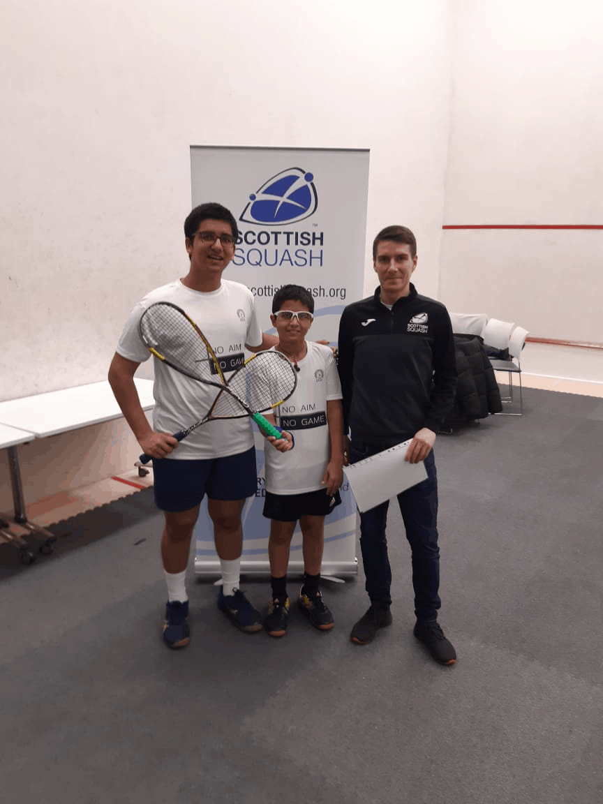 Jaisingh brothers (AVM BW)continue to make a mark in Squash Tournaments in the international arena!!