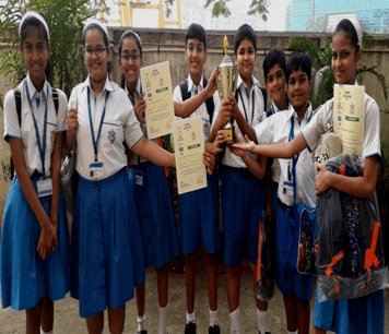 Achievement of our students who participated in the Saevus EcoAchievers Quiz