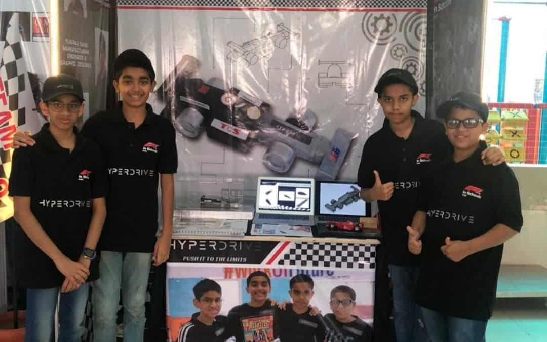 Winner of F1 IN SCHOOL competition