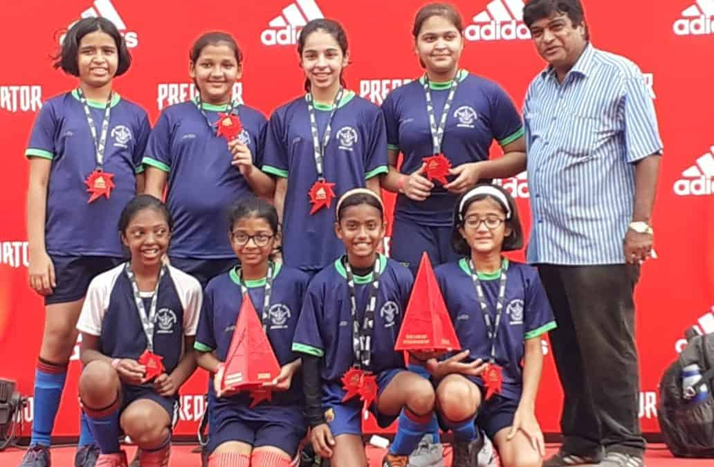 AVM Bandra West Girls'Football team on a winning streak!!!