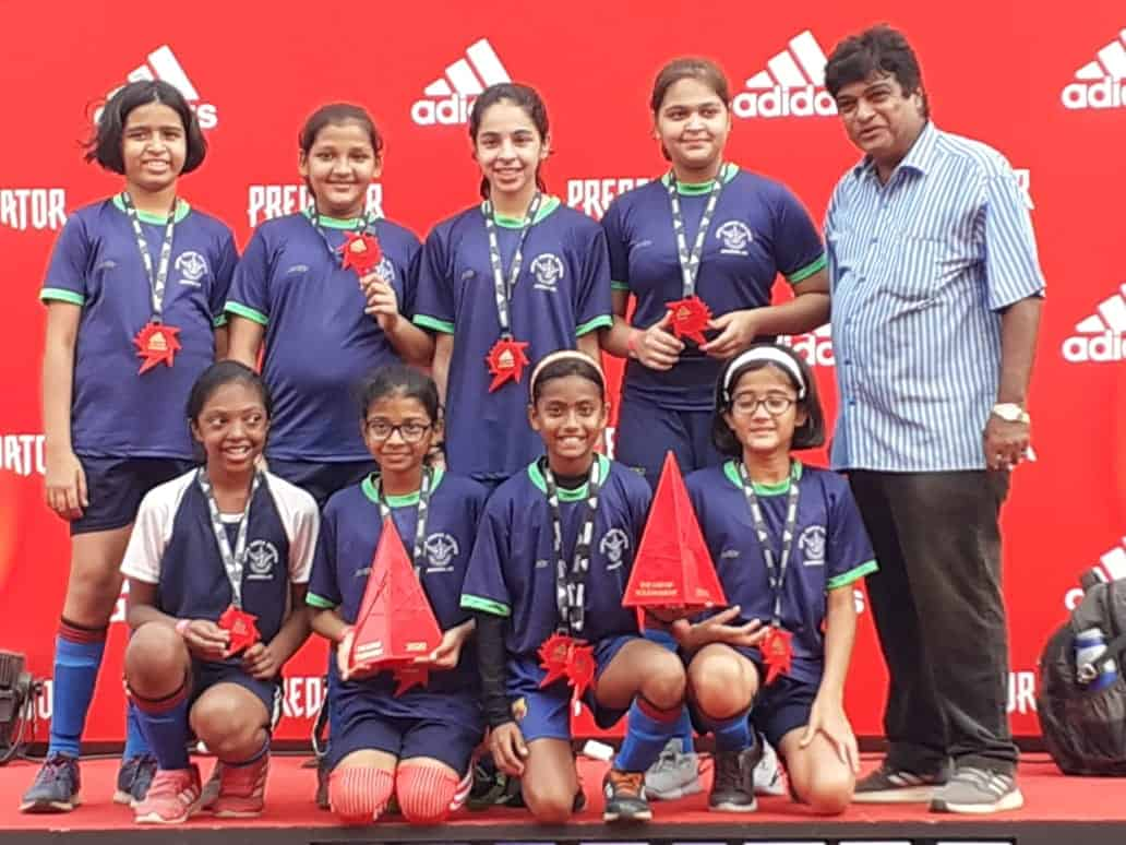 AVM Bandra West Girls'Football team on a winning streak!!!
