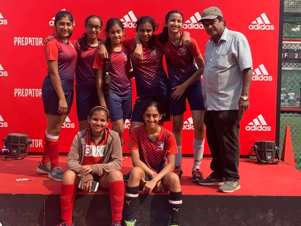 Runners-up position for the Bandra West U/14 Girls' Football Team!!!