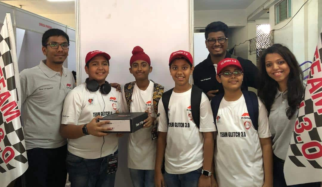 TEAM GLITCH – QUALIFIES FOR THE NATIONAL ROUND OF F1 IN SCHOOLS COMPETITION