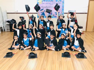 Graduation Day Ceremony for Prep II @ AVM Juhu