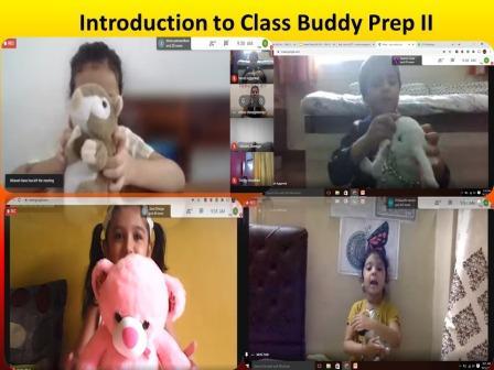 Class Buddy introduced in Prep II Online Classes @ AVM Juhu