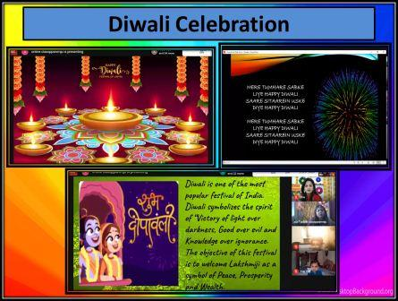 Celebration of Diwali Festival in the Pre-Primary Section @ AVM Juhu