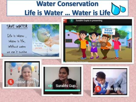 Water Conservation in Pre-Primary @ AVM Juhu