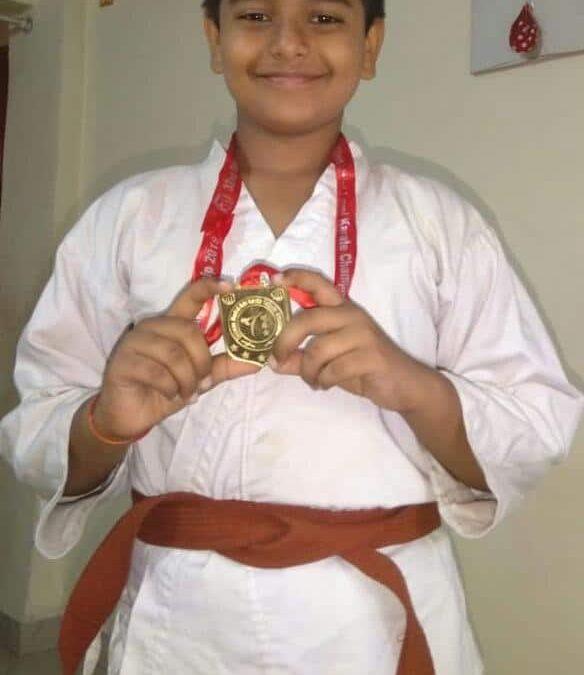Achievement of AVM Juhu students in Karate